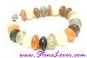 Color Stone Bracelet/สร้อยข้อมือหินล้วน