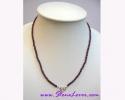 Garnet Necklace / สร้อยคอโกเมน [11921]