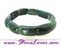 Moss Agate Bracelet / สร้อยข้อมือมอส อาเกต [08022639]