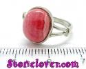 Rhodochrosite Ring / แหวนโรโดโครไซต์ [12119990]