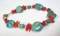 Turquoise Bracelet / สร้อยข้อมือเทอร์ควอยส์ [24104]
