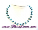 Turquoise Necklace /สร้อยคอเทอร์ควอยส์ [08064602]