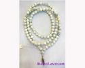 108+1 Beads Mala Howlite/สร้อยปะคำ 108+1 เม็ด โฮว์ไลต์ [12084]