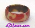 1 Eye + Ru Yi dZi Ring / แหวนหินทิเบต 1 ตา + หรูยี่ [84592]