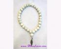 28+1 Beads Mala Howlite/สร้อยปะคำ 28+1 เม็ด โฮว์ไลต์ [12070]