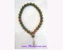 28+1 Beads Mala Unakite / สร้อยปะคำ 28+1 เม็ด ยูนาไคต์ [18870]