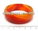Agate Bangle / กำไลข้อมืออาเกตสีส้ม [13081078]