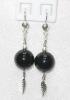 Agate Earrings / ต่างหูอาเกต [40301]
