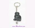 Agate Key Chain / พวงกุญแจอาเกต-รูปแมว [30366]