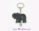 Agate Key Chain / พวงกุญแจอาเกต-รูปช้าง [30369]