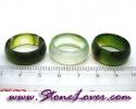 Agate Ring / แหวนอาเกต-เขียว [08075116]