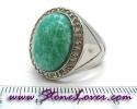 Amazonite Ring / แหวนอมาโซไนต์ [09056820]