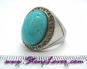 Amazonite Ring / แหวนอมาโซไนต์ [09056822]