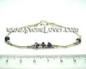 Amethyst Bracelet / สร้อยข้อมืออเมทิสต์ [13060975]
