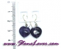 Amethyst Earrings / ต่างหูอเมทิสต์ [08064651]