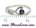 Amethyst Ring / แหวนอเมทิสต์ [09056877]