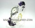 Amethyst Watch / นาฬิกาข้อมืออเมทิสต์ [13091263]