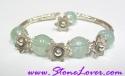 Aquamarine Bracelet / สร้อยข้อมืออความารีน [20440]