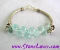 Aquamarine Bracelet / สร้อยข้อมืออความารีน [2044