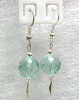 Aquamarine Earrings / ต่างหูอความารีน [40453]