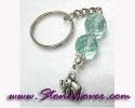 Aquamarine Key Chain / พวงกุญแจอความารีน [30452]