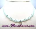 Aquamarine Necklace / สร้อยคออความารีน [08064684]