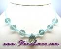 Aquamarine Necklace / สร้อยคออความารีน [08064685]