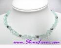 Aquamarine Necklace / สร้อยคออความารีน [10401]