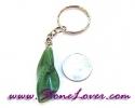 Aventurine Key Chain / พวงกุญแจอเวนเจอรีน-รูปดอกไม้ [07121231]