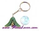 Aventurine Key Chain / พวงกุญแจอเวนเจอรีน-รูปดอกไม้ [07121232]