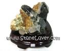 Black Quartz Cluster / กลุ่มแท่งหินแบล็คควอตซ์ [13010367]