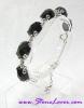 Black Spinel Bracelet / สร้อยข้อมือนิล [24442]