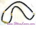 Black Spinel Necklace / สร้อยคอนิล [14415]