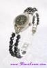 Black Spinel Watch / นาฬิกาข้อมือนิล [24450]