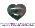 Blood Stone Heart Shape / หินทรงหัวใจบลัด สโตน[08033665]