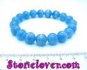 Blue Calcite Bracelet / สร้อยข้อมือบลู แคลไซต์ [11129079]