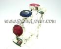 Blue Sapphire and Emerald Ruby Bracelet / สร้อยข้อมือไพลินและมรก