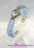 Blue Topaz Watch / นาฬิกาข้อมือบลู โทปาซ [20860]