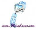 Blue Topaz Watch / นาฬิกาข้อมือบลู โทปาซ [08106063]