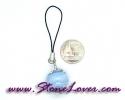 Bluelace Agate / สายห้อยกระเป๋า/มือถือ บลูเลซ อาเกต [08033292]