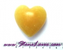 Calcite Heart Shape / หินทรงหัวใจแคลไซต์ [08011512]
