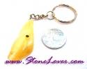 Calcite Key Chain / พวงกุญแจแคลไซต์-รูปดอกไม้ [07121234]
