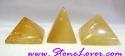 Calcite Pyramid / หินทรงปิรามิดแคลไซต์ [71480]