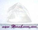 Calcite Pyramid / แคลไซต์-เงินตำลึงจีน [08033323]