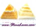Calcite Pyramid / หินทรงปิรามิดแคลไซต์ [08064421]