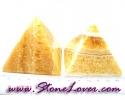 Calcite Pyramid / หินทรงปิรามิดแคลไซต์ [08064420]