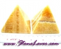 Calcite Pyramid / หินทรงปิรามิดแคลไซต์ [08064422]