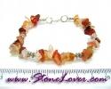 Carnelian Bracelet / สร้อยข้อมือคาร์เนเลี่ยน [08064522]