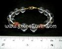 Clear Quartz Bracelet / สร้อยข้อมือควอตซ์ใส [13121351]
