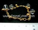 Clear Quartz Bracelet / สร้อยข้อมือควอตซ์ ใส [13121356]